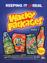 Wacky Packages All-New Series 7